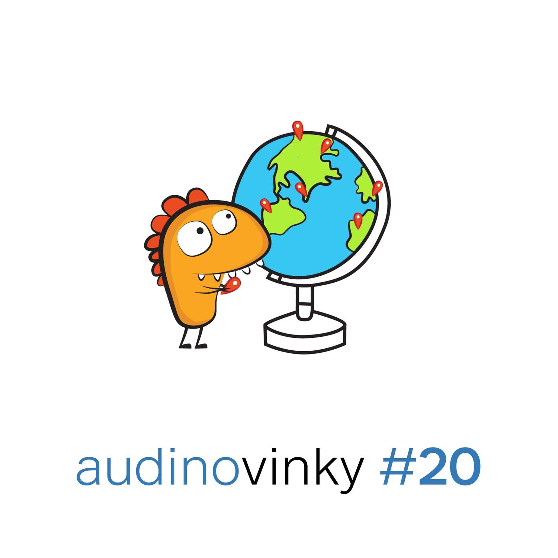 Audinovinky 20 - Cestujeme po světě