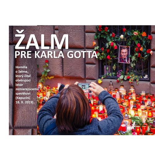 Žalm pre Karla Gotta