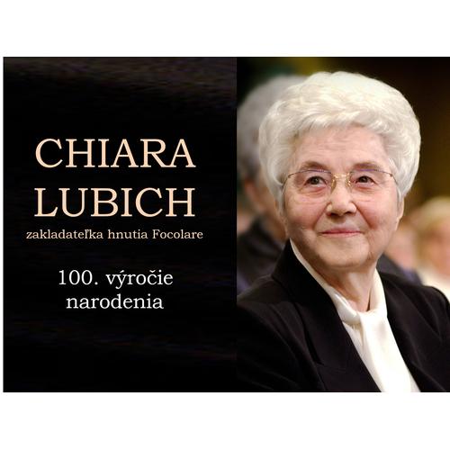 CHIARA LUBICH zakladateľka hnutia Focolare, 100. výročie narodenia