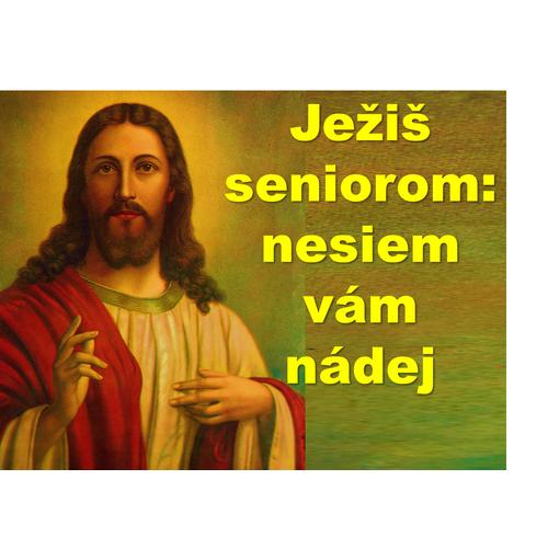 Ježiš  seniorom:  nesiem vám nádej