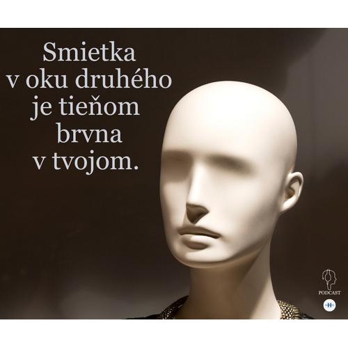 Smietka v oku druhého je tieňom brvna v tvojom.