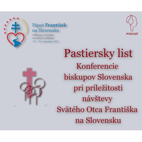 PASTIERSKY LIST KBS pri príležitosti návštevy Svätého Otca Františka na Slovensku