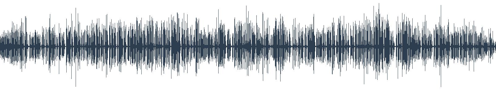 Ruženec a eštébák waveform