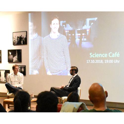 Science Café with Filip Matějka