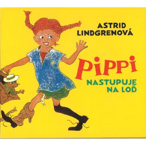 Audio kniha Pippi nastupuje na loď