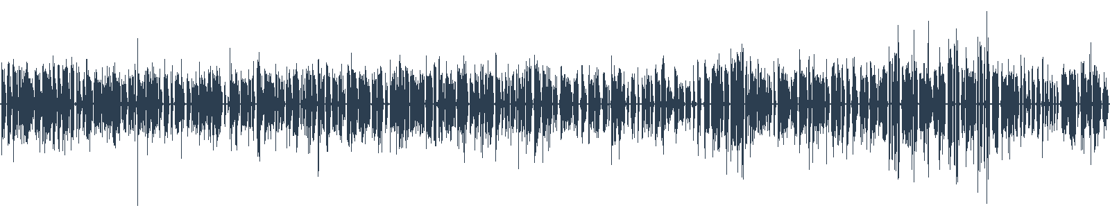 Petrichor waveform