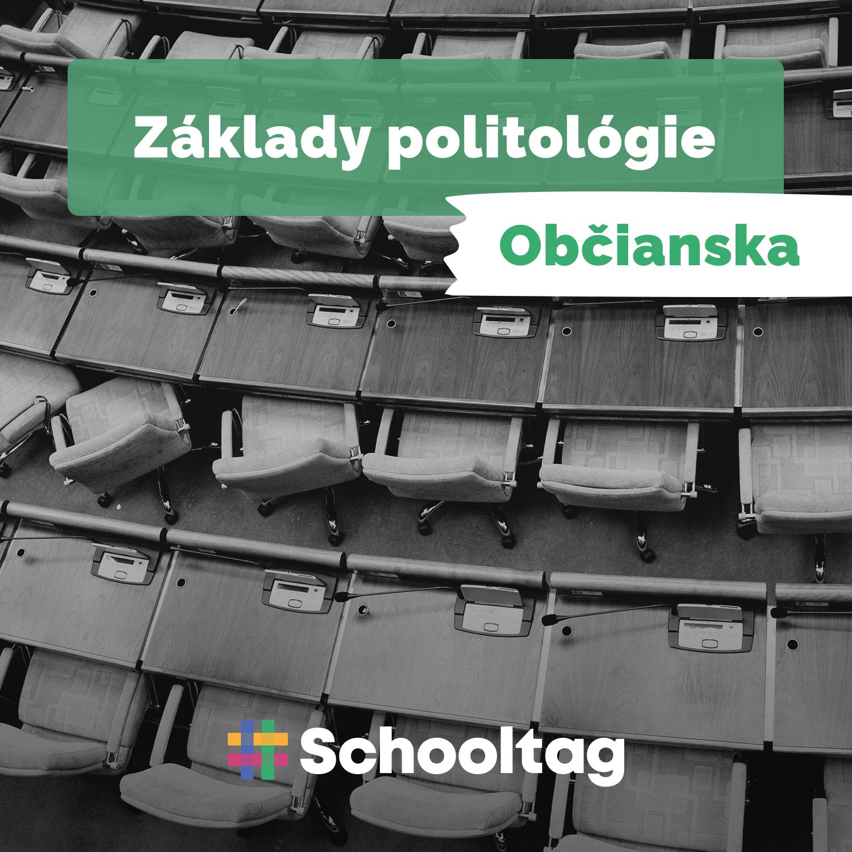 #Politológia: Základy politológie  (občianska náuka)