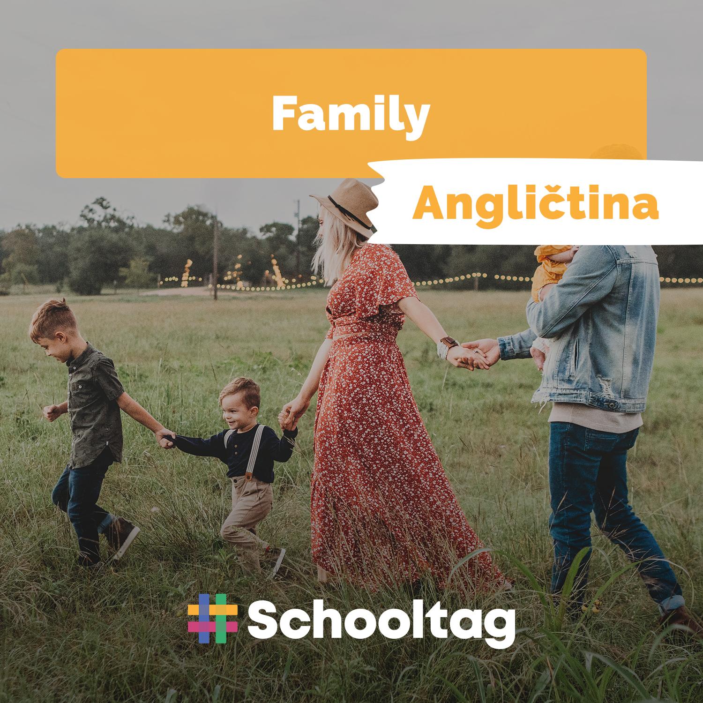 #Angličtina: Family