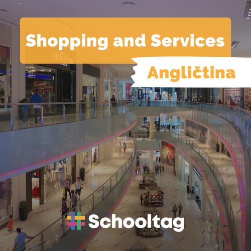 #Angličtina: Shopping and Services
