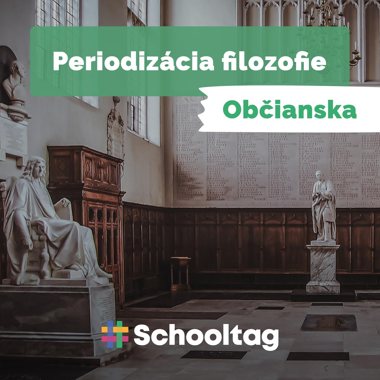#Filozofia: Periodizácia filozofie (občianska náuka)