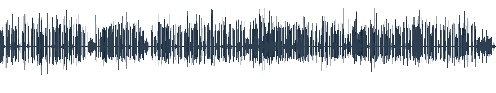 Nikdykde - ukázka z audioknihy waveform