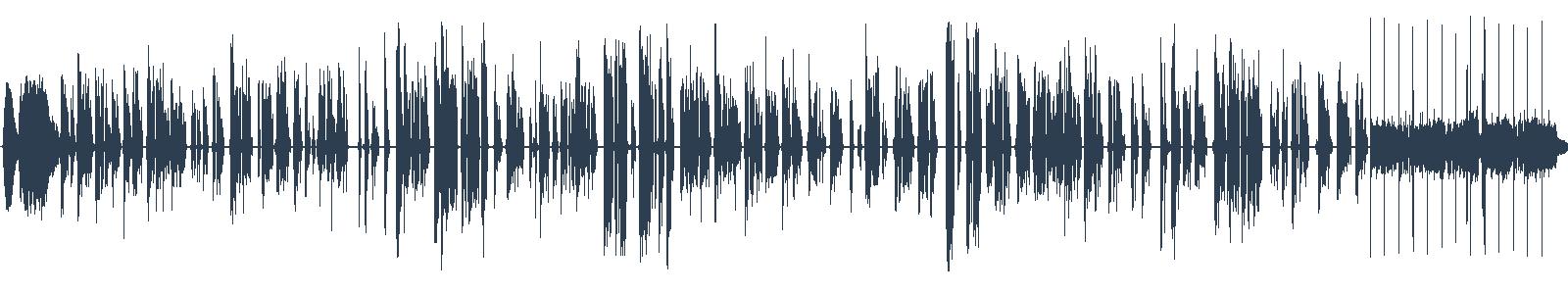 Američtí bohové - ukázka z audioknihy waveform