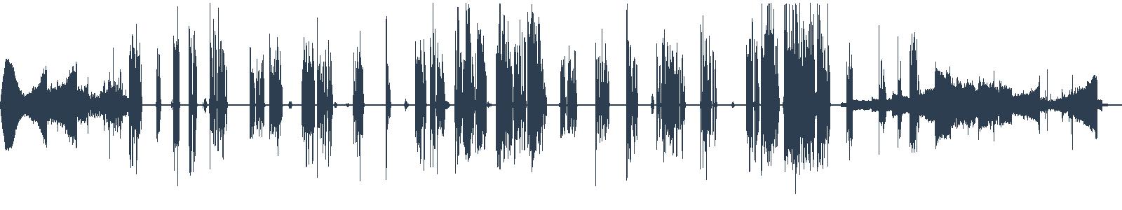 Mimo dosah - ukázka z audioknihy waveform
