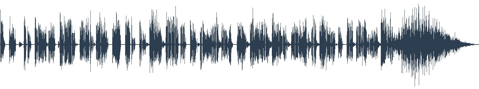 Kříďák - ukázka z audioknihy waveform