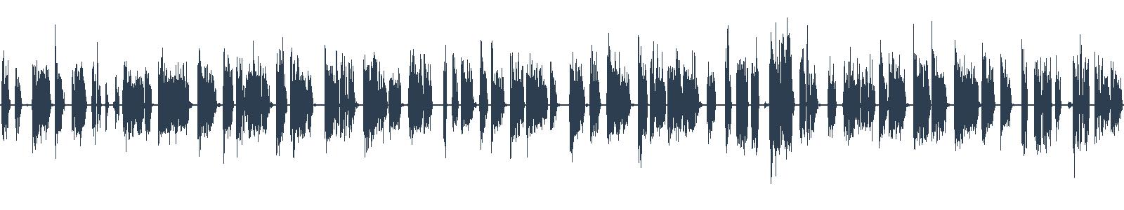 Prašina - ukázka z audioknihy waveform