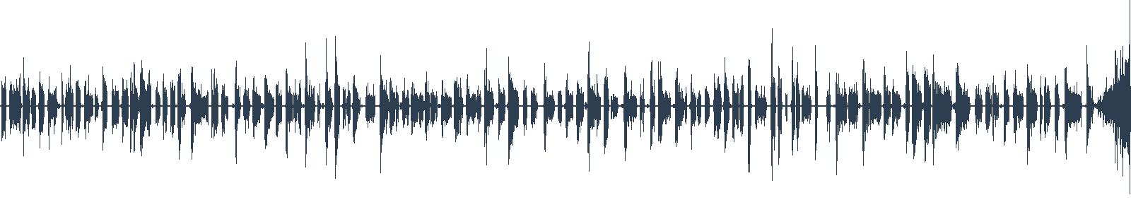 Do tmy - ukázka z audioknihy waveform