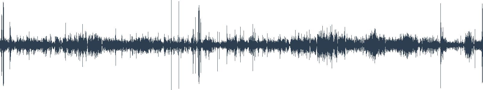 Křest audioknižních novinek, Praha waveform