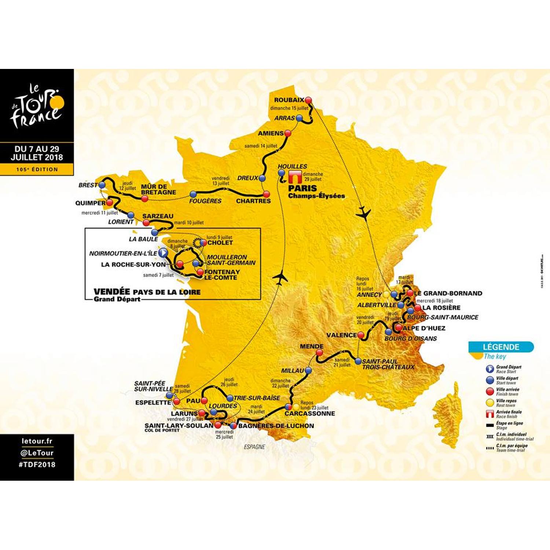 #46 Mini Roubaix, legendárne stúpania aj superkrátke etapy: Ako bude vyzerať Tour 2018?