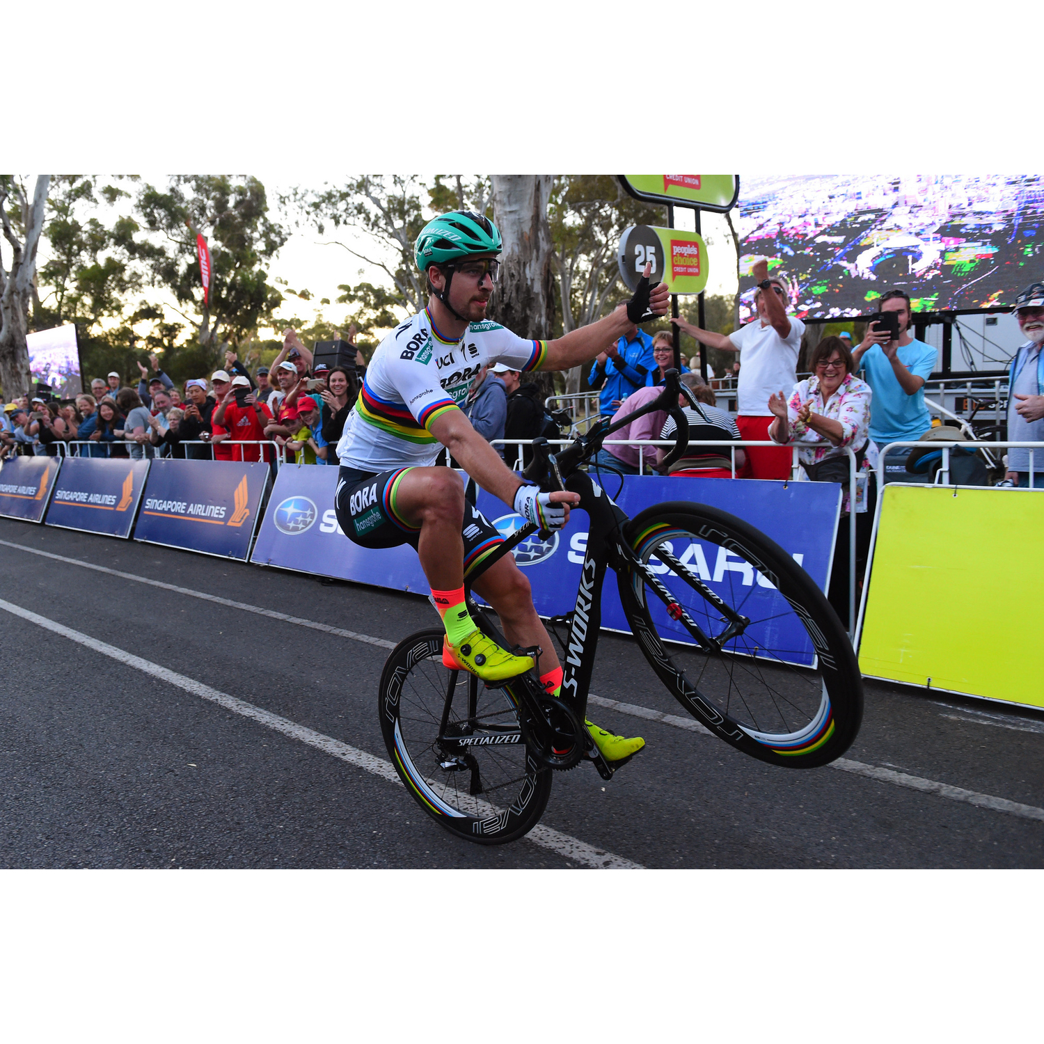 #58 Tour Down Under, Froome a Poprad - Home of Cycling