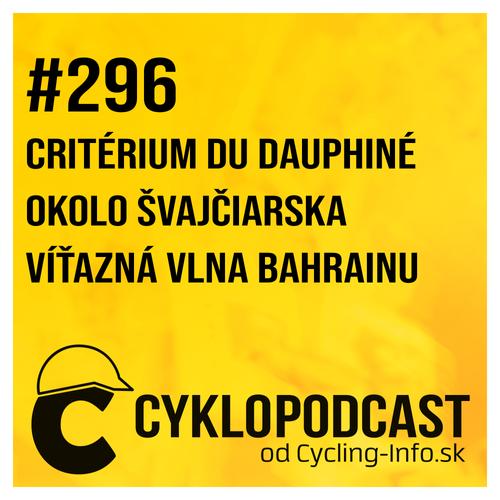 #296 Ineos si ustrážil generálku na Tour de France