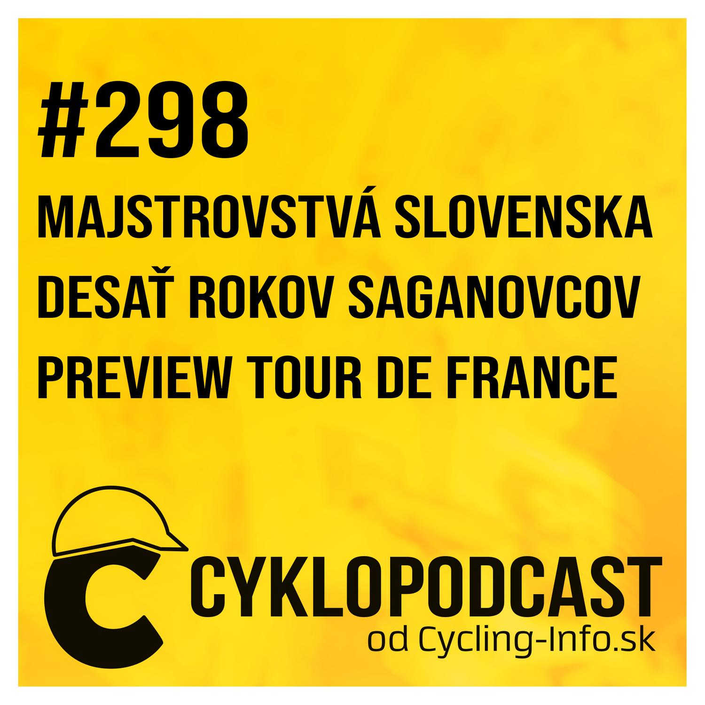 #298 Dekáda so Saganovcami, Peter berie na Tour dres slovenského majstra