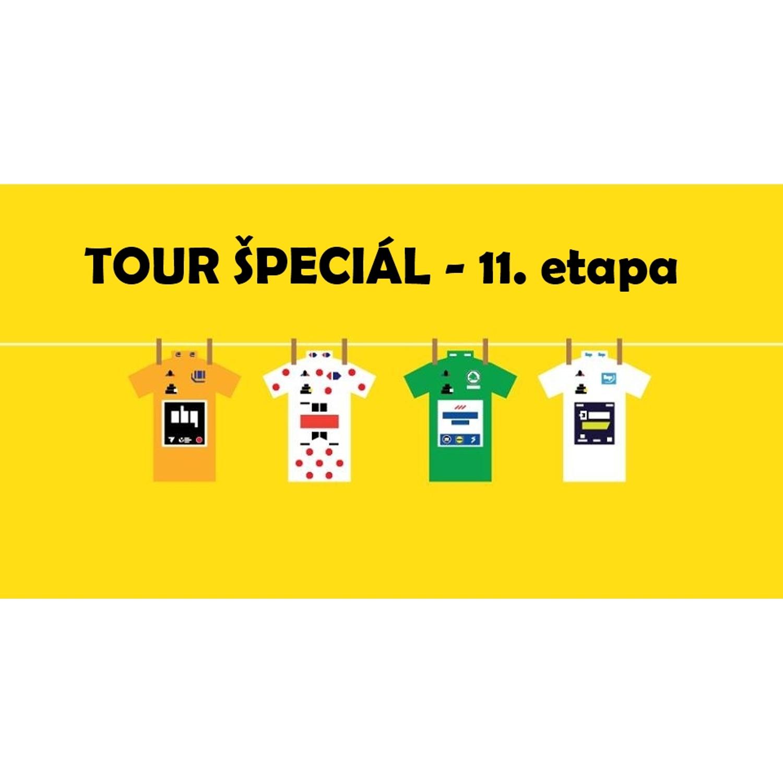 #111 TOUR ŠPECIÁL: 11. etapa - G v žltom, Sky na koni