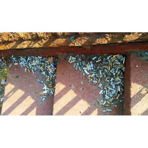 Cigaretové ohorky
